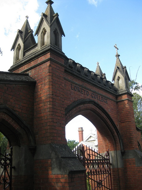 The Front Gates of Loreto College - Sturt Street, Ballarat by raaen99, via Flickr