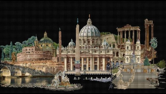 Thea Gouverneur Rome - Aïda - Borduurpakket | Borduurpakkettenwinkel