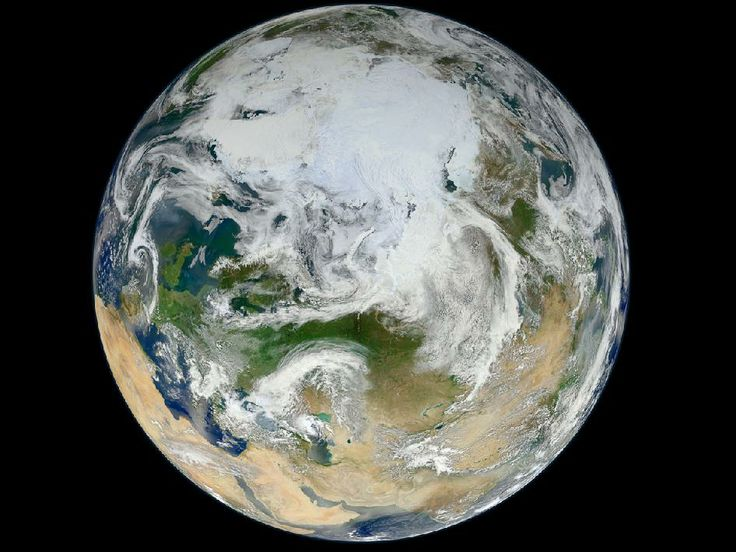 NASA - Blue Marble 2012 - Arctic View: Arctic View, Nasa, North America, Blue Marbles, Climate Changing, North Pole, Photo, Planetearth, Planets Earth