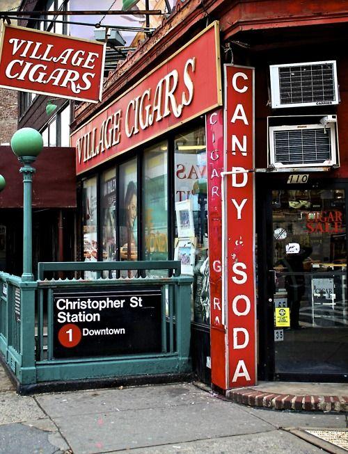 Village Cigars – Greenwich Village, NYC #nyc #nycshopping #villagecigars #greenwichcigars