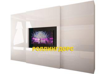 Шкаф-купе со встроенным телевизором от РОЛЛИНГДОРС!