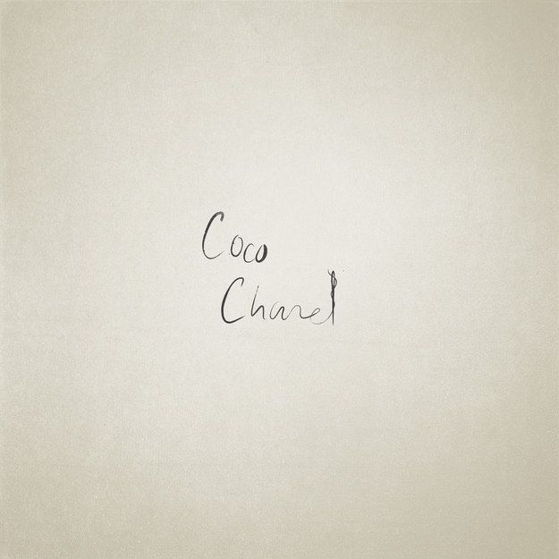 Coco Chanel: | These Minimalist Illustrations Of Famous Names Are Perfect