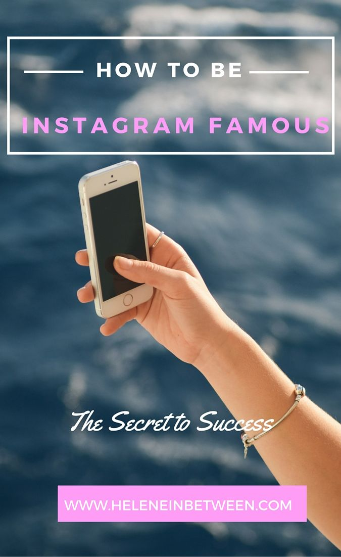 How To Be Famous on Instagram  + win a course on growing your instagram and increasing your online presence
