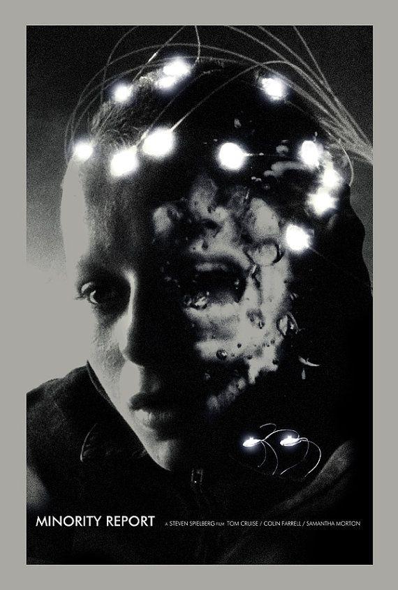 Minority Report alternative movie poster