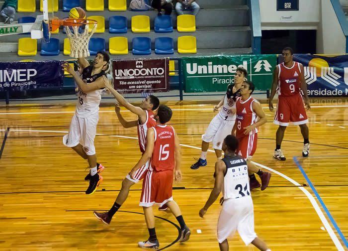 Aequipe de basquetebol Sub-19 Masculino do XV de Piracicaba volta à quadra na próxima segunda-feira, para enfrentar o CBC/Tênis Clube de Campinas