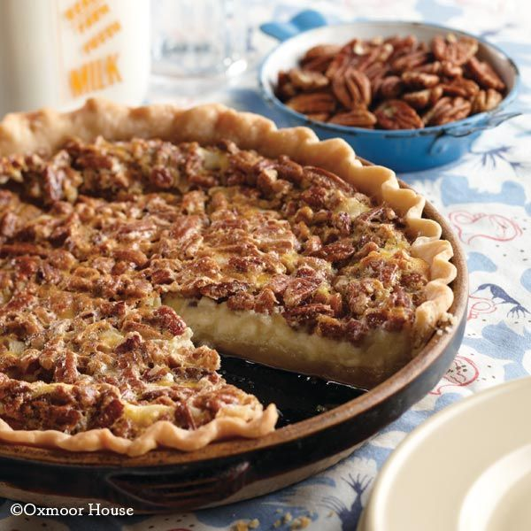 Pecan Cheesecake Pie - cheesecake and pecan pie come together!