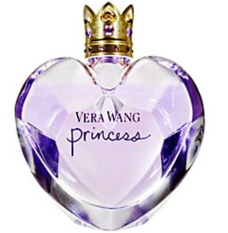 Vera Wang Princess Perfume. This was my first perfume when I was about 8, I thought I was so cool!