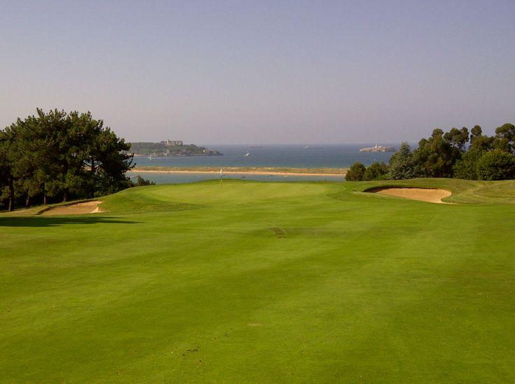 Real club de #golf de Pedreña. Cantabria. España. Spain. Severiano Ballesteros. Seve.