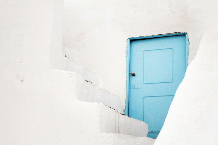 Oia, Santorini, Greece, beautiful house, caldera view, cycladic architecture, holiday deatinations, must see places, blue door