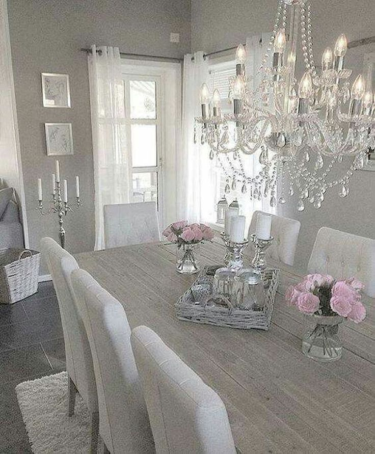 75 Farmhouse Dining Room Makeover Decor Ideas Elegant Dining