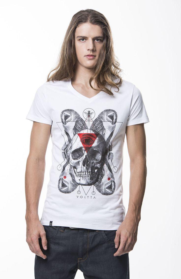 Camiseta Calavera Buhos