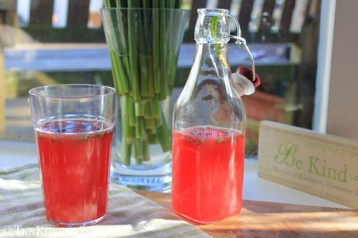 Clean Eating Watermelon Juice