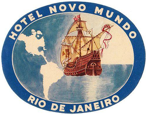 BRAZIL Brasile - Rio - Hotel Novo Mundo | Flickr