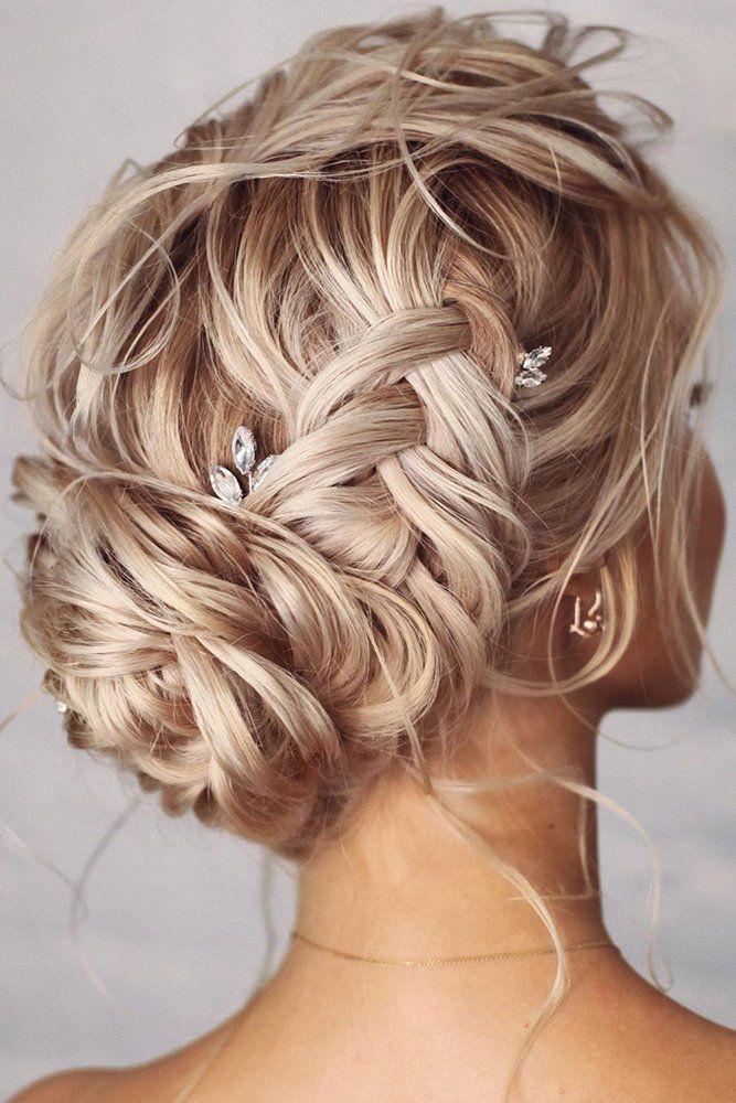 36 Perfect Bridesmaid Hairstyles Ideas Hair Styles Long Hair Styles Wedding Hair Pins Crystal