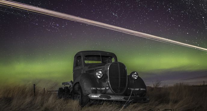 """Chinese Rocket,"" Joey Cook, Lundbreck, Alberta"