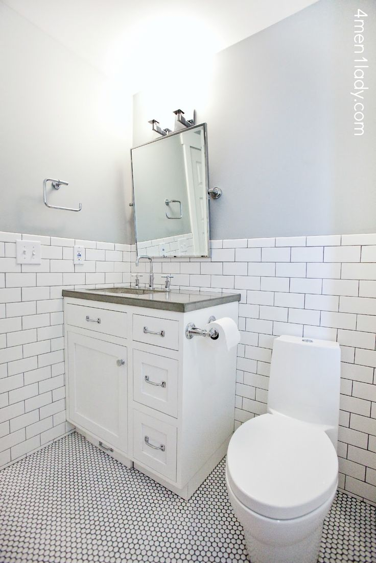 Ready to see an old dated bathroom