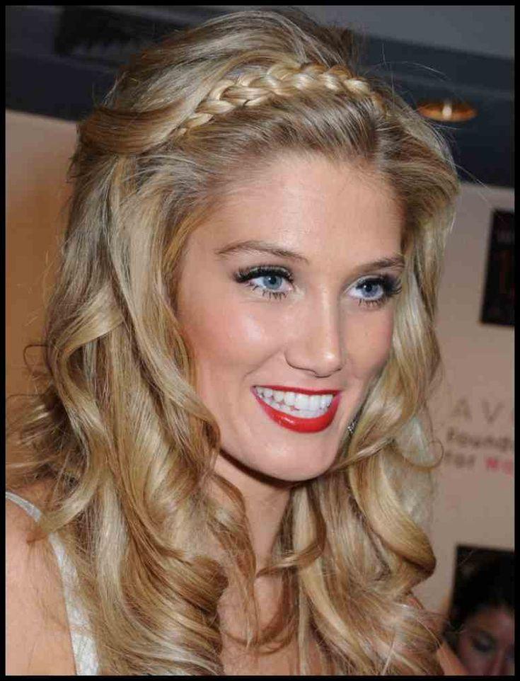Style: Party Frisuren Mittellanges Haar Zopf Vorne Blonde Wellen …