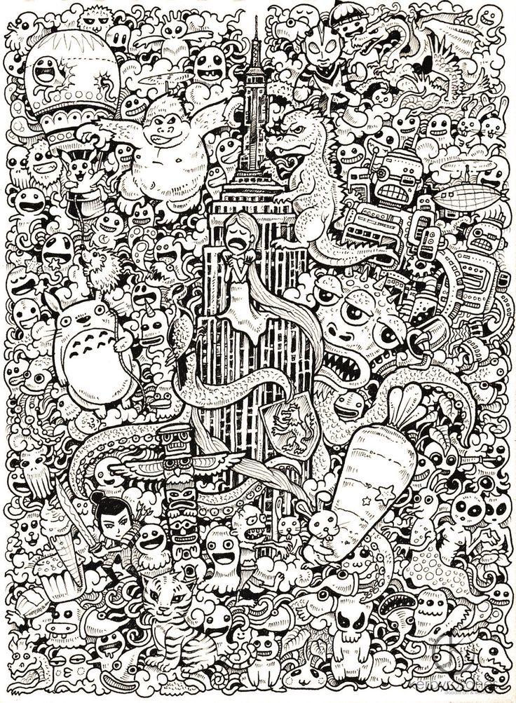 fer1972: More Doodle Drawings byKerby Rosanes   SerialThriller™