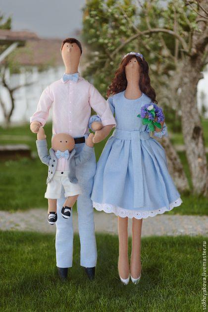 Куклы Тильды ручной работы. Портретная семья в стиле Тильда.. Маргарита Сохрякова. Ярмарка Мастеров. Кукла текстильная, ребенок