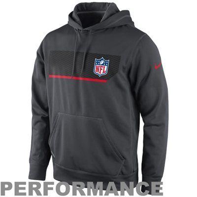 Nike NFL Shield Performance Hoodie - Charcoal