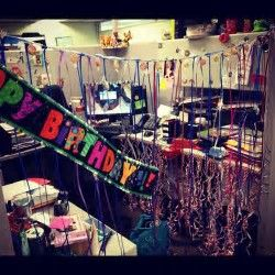 12 best Office Birthday Decorations images on Pinterest