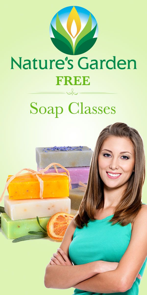 Free soap classes.  Learn how to make soap from scratch.  Make homemade soap.  Learn how to use melt and pour soap. #soapclasses