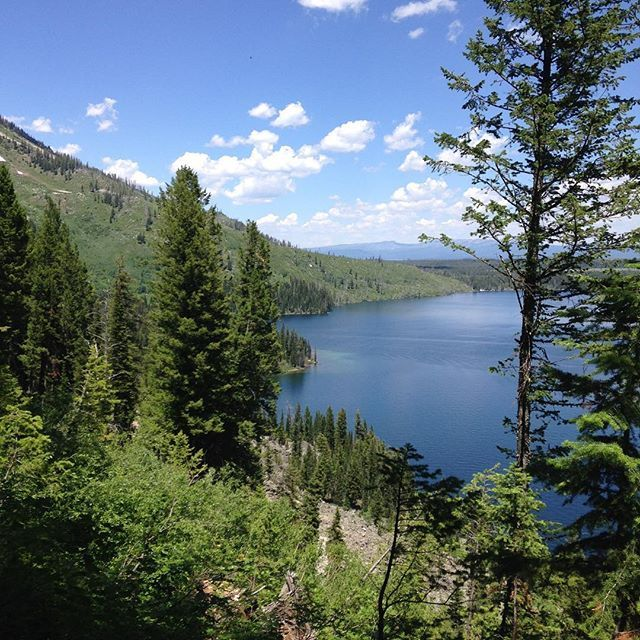 Jenny Lake did not disappoint, yet again! #nofilter #noenhancement #jennylake #grandtetons #beauty #naturalbeauty #nationalpark #outdoors #nature #lovely #hiking Natural Beauty from BEAUT.E