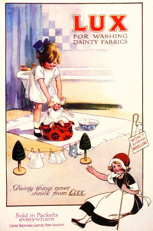 Ahh Lux ad. vintage