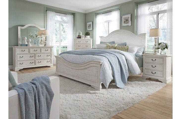 bayside bedroom white panel bedroom set from liberty coleman rh pinterest com