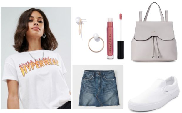 Class to Night Out: Slogan T-Shirt
