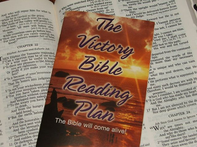 6 Unique One Year Bible Reading Plans: Victory Bible Reading Plan