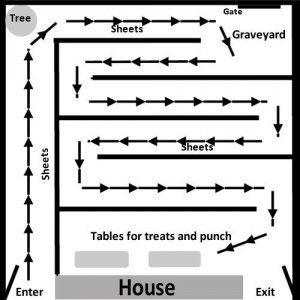 Best 25 Haunted Maze Ideas On Pinterest Halloween Maze Haunted
