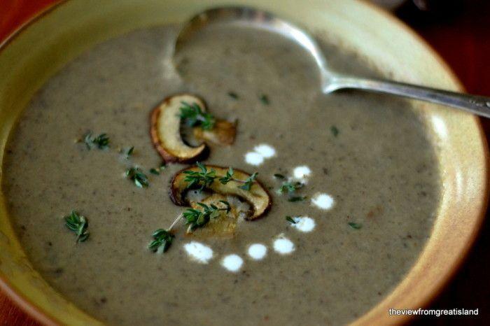 + ideas about Wild Mushroom Soup on Pinterest | Soups, Mushroom soup ...