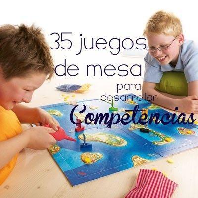 A petición de varios maestros, aquí les presento una recopilación de juegos que desarrollan competencias en diferentes áreas. LaAssociació ImpulsyHomoludicus Valenciarealizó el siguientes estud...