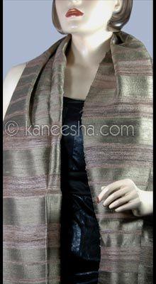 Woven Hand Loom Silk Stole