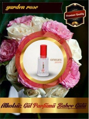 Muhteşem Alkolsüz Bahçe Gülü Parfümü - Garden Rose 50CC Sprey