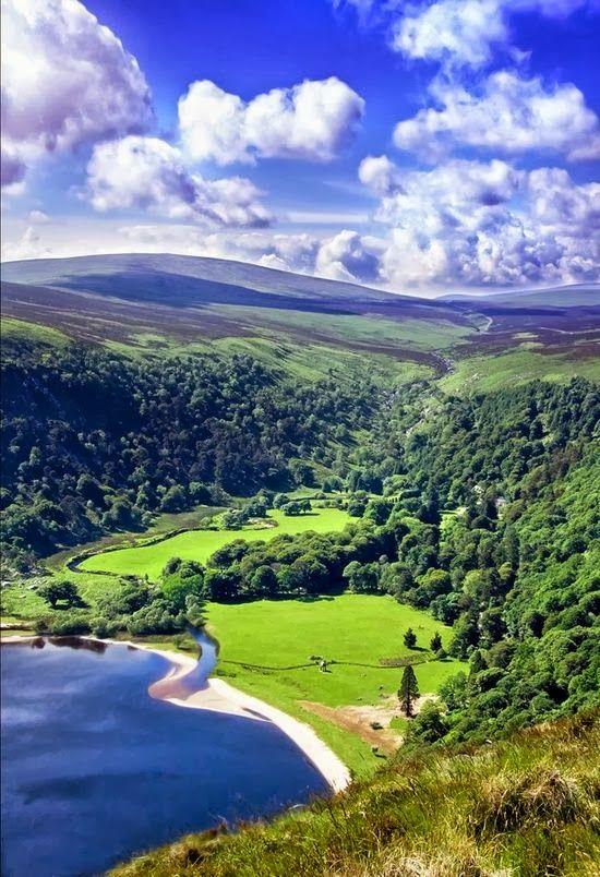 Wicklow Mountains National Park ,Ireland: