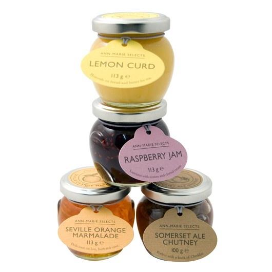 Sweet jars for jams. #packaging