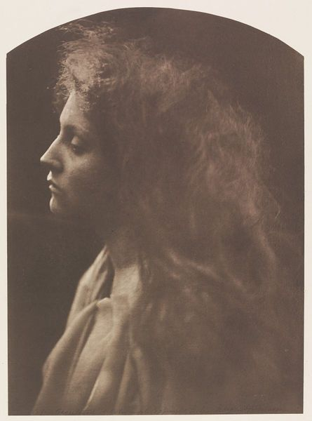 The Angel at the Tomb by Julia Margaret Cameron, England, 1870. l Victoria and Albert Museum #Christmas #AngelTrail