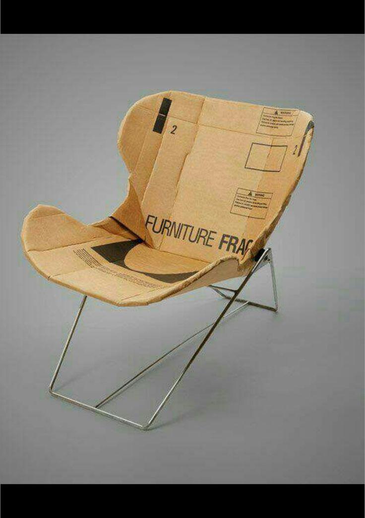 25+ unique Cardboard chair ideas on Pinterest   Cardboard ...