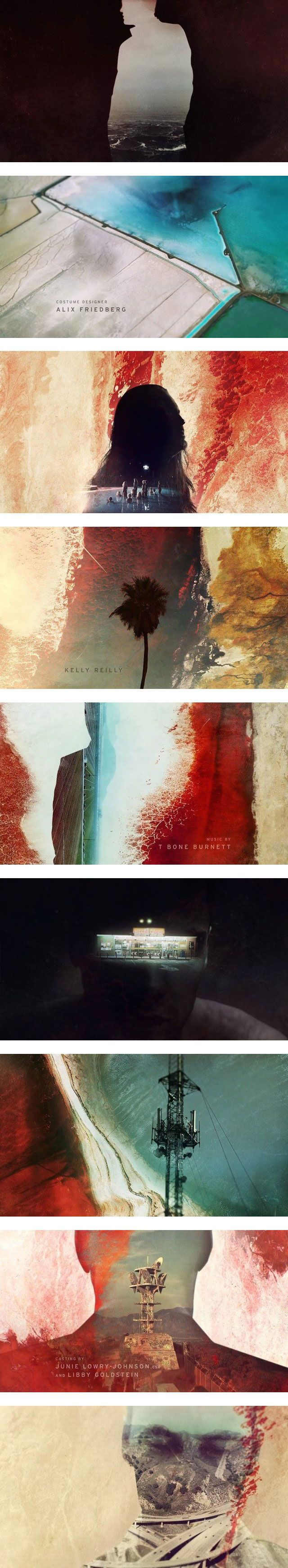 motion graphics/ storyboards/ styleframes | True Detective Season 2 Opening Credits