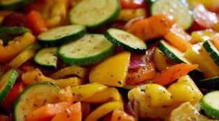 Roasted vegetables Salad