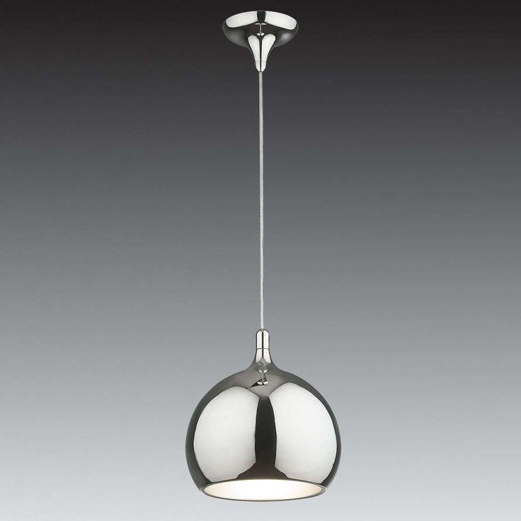 LAMPA wisząca FLASK MA03586C-001 CH Italux metalowa OPRAWA ZWIS do IP20 kula ball chrom