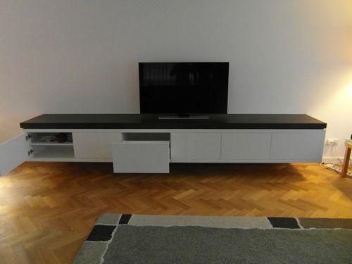 deuren tv stands zwevende planken tvs wandkleden google met tv kasten ...