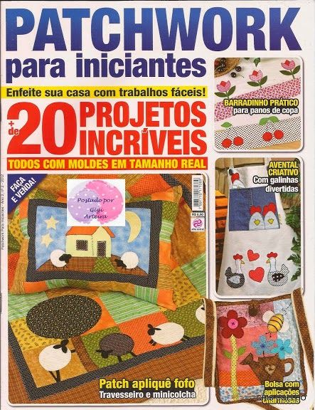 Patchwork para principiantes revistas de patchwork - Patchwork para principiantes patrones ...