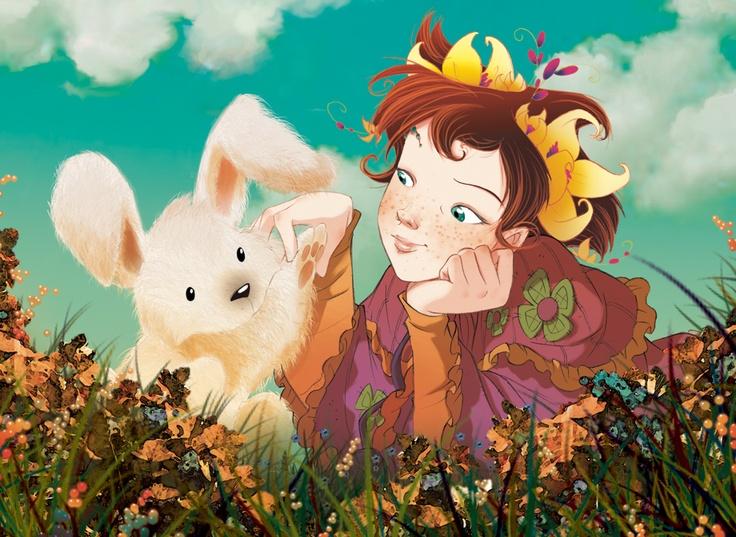Fairy Oak-Lavender Periwinkle | #ElisabettaGnone #libri #books #romanzo #novel #art #drawing #picture #sketch #draw #artist #illustration #pencil #reading #fable #fiaba