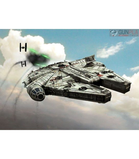 STAR WARS - MILLENNIUM FALCON 1/164 - Revell Build & Play 06765