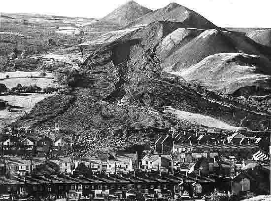 Mudslide Aberfan Disaster1966 | The Aberfan Disaster - A Brief Description