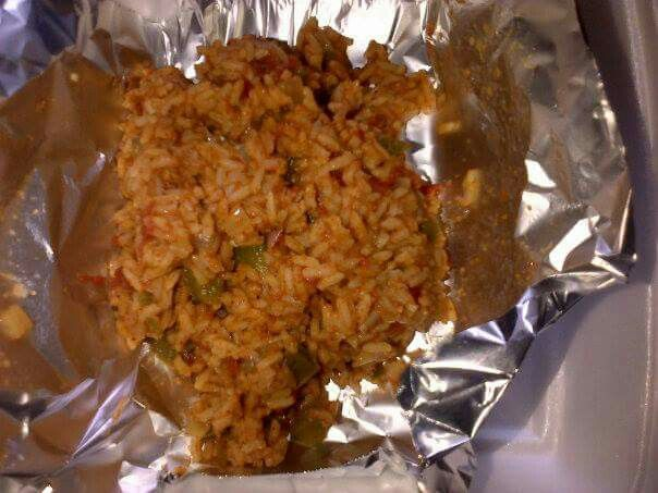 Mexican Rice (made in cooking class)