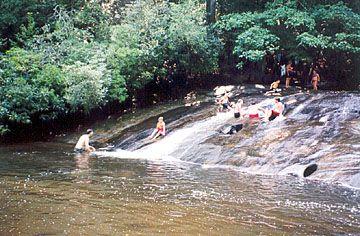 25 Best Ideas About Sliding Rock North Carolina On